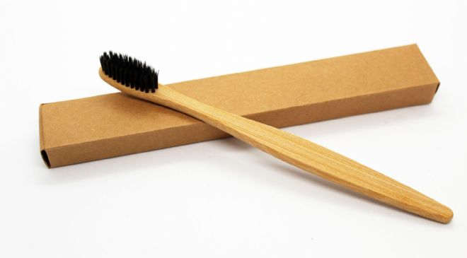 Bamboo Toothbrush - Black